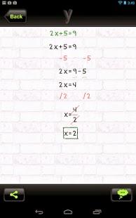 تحميل تطبيق yHomework لحل المعادلات الرياضية للاندرويد برابط مباشر لوجو logo صور