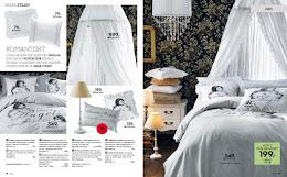Bild från Ellos katalogen där jag är med och stylar för hemavdelningen