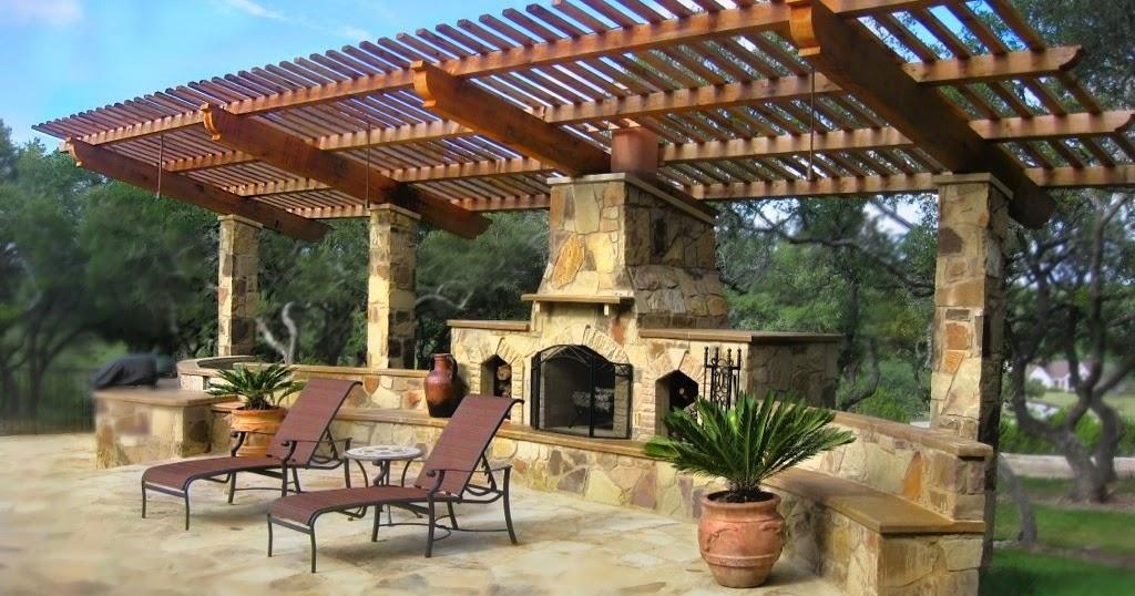 chimenea abierta de pared jardin patios y jardines