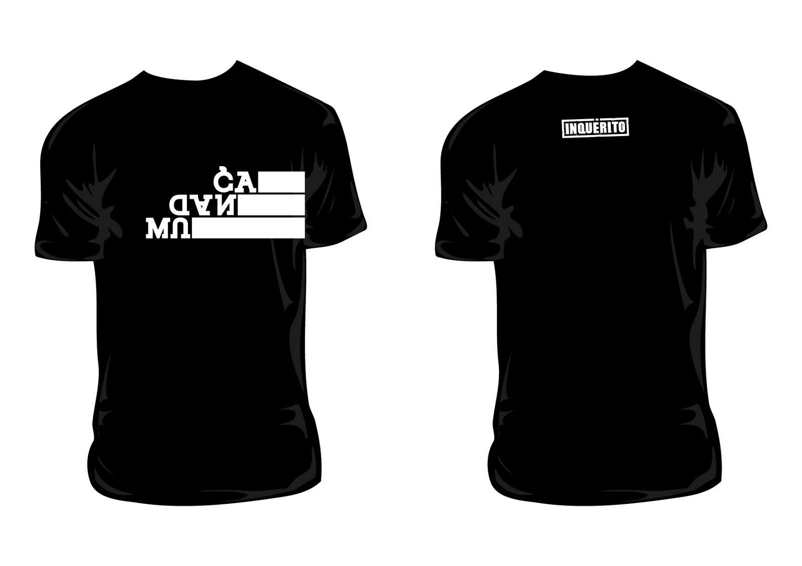 Camisetas @grupoinquerito MUDANÇA apenas R$25,00 + frete! Adquira já ...