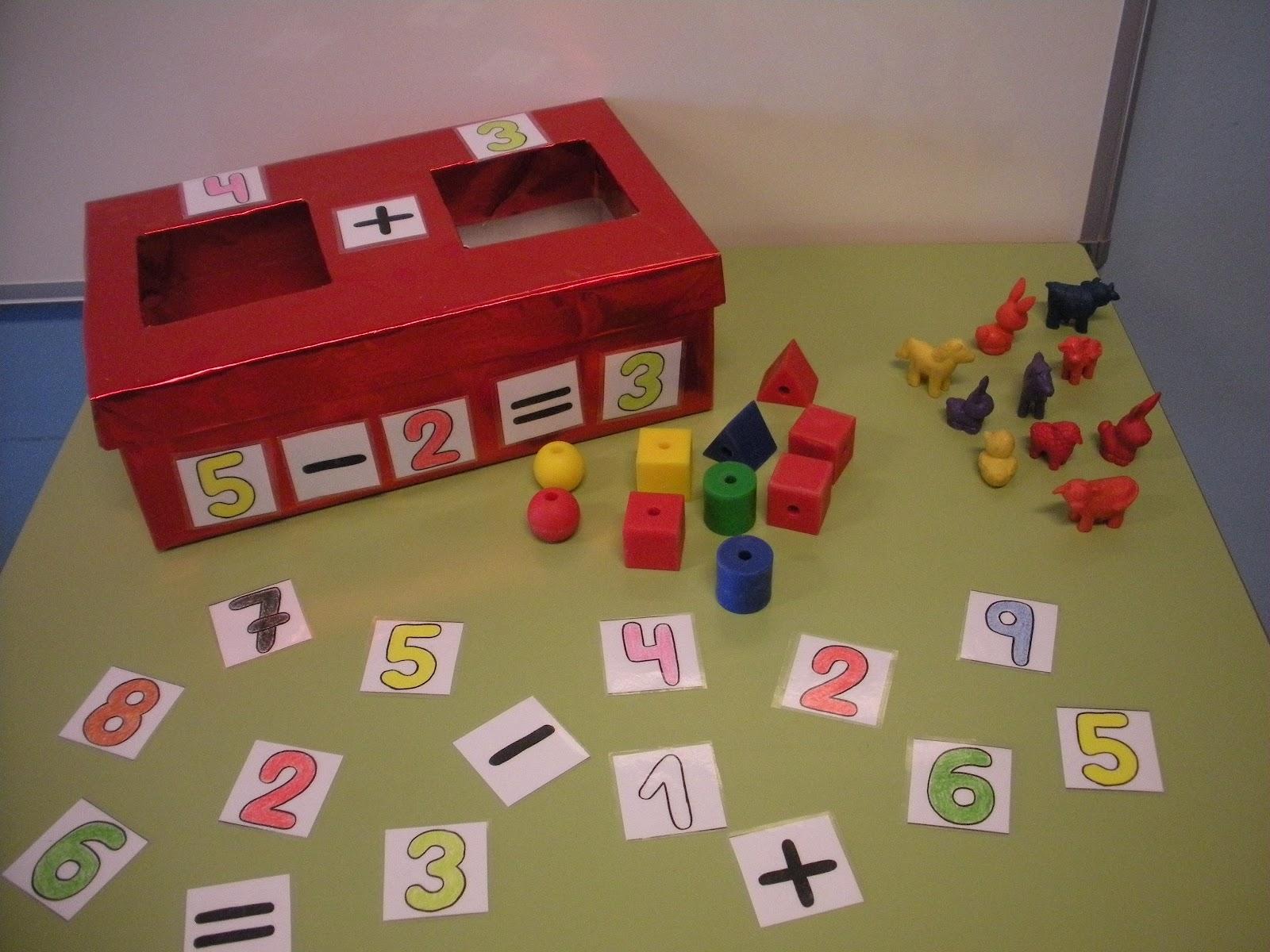 El rinconcito de infantil la caja de las sumas for Caja de colores jardin infantil