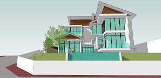 plan modern rumah 1 tingkat banglow daily forex news