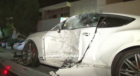 Land Rover Santa Monica >> 18 Year Old Crashes Bentley Continental GT in Los Angeles