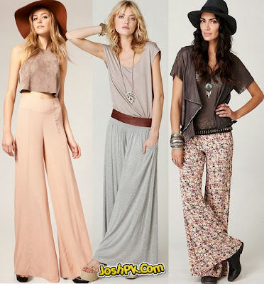 Long Shirts With baggy palazzo For Western Collection 2013