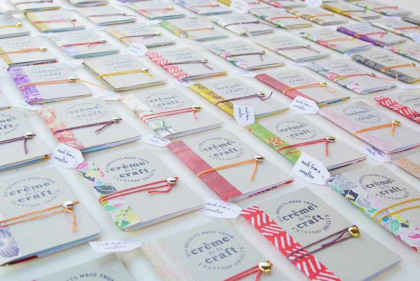 My DIY Cereal Box Notebook Business Cards | Crème de la Craft ...