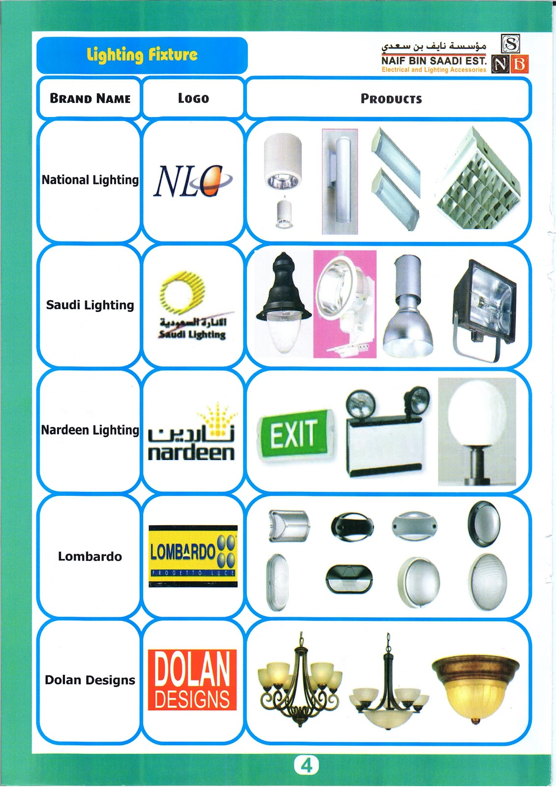 One of the largest importers distributors of electrical materials in the kingdom of saudi arabia specialize in the lighting field offers a complete