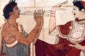 Bailando en Roma con Flauta Sarrana