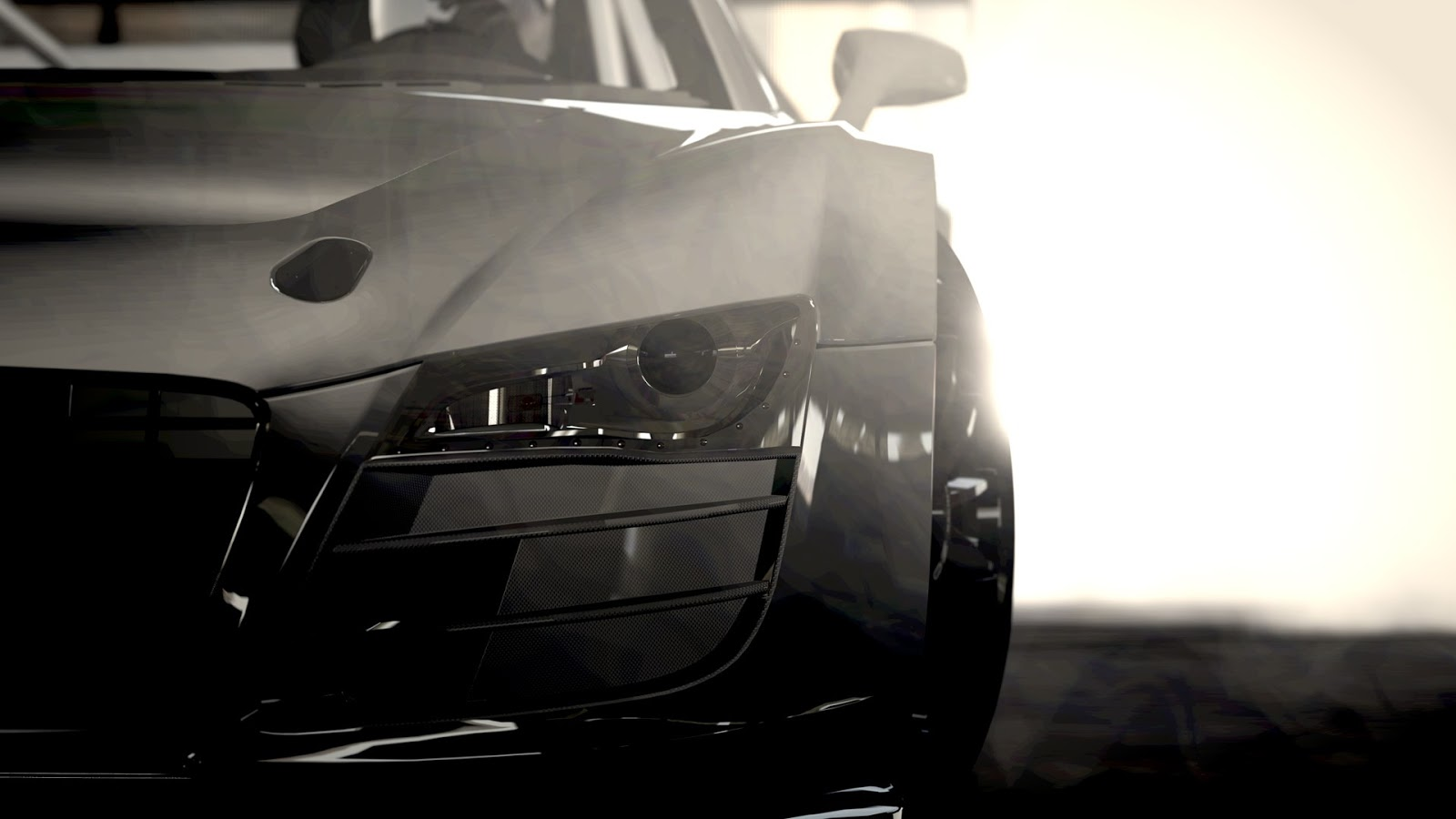 Audi R8 Headlight Section