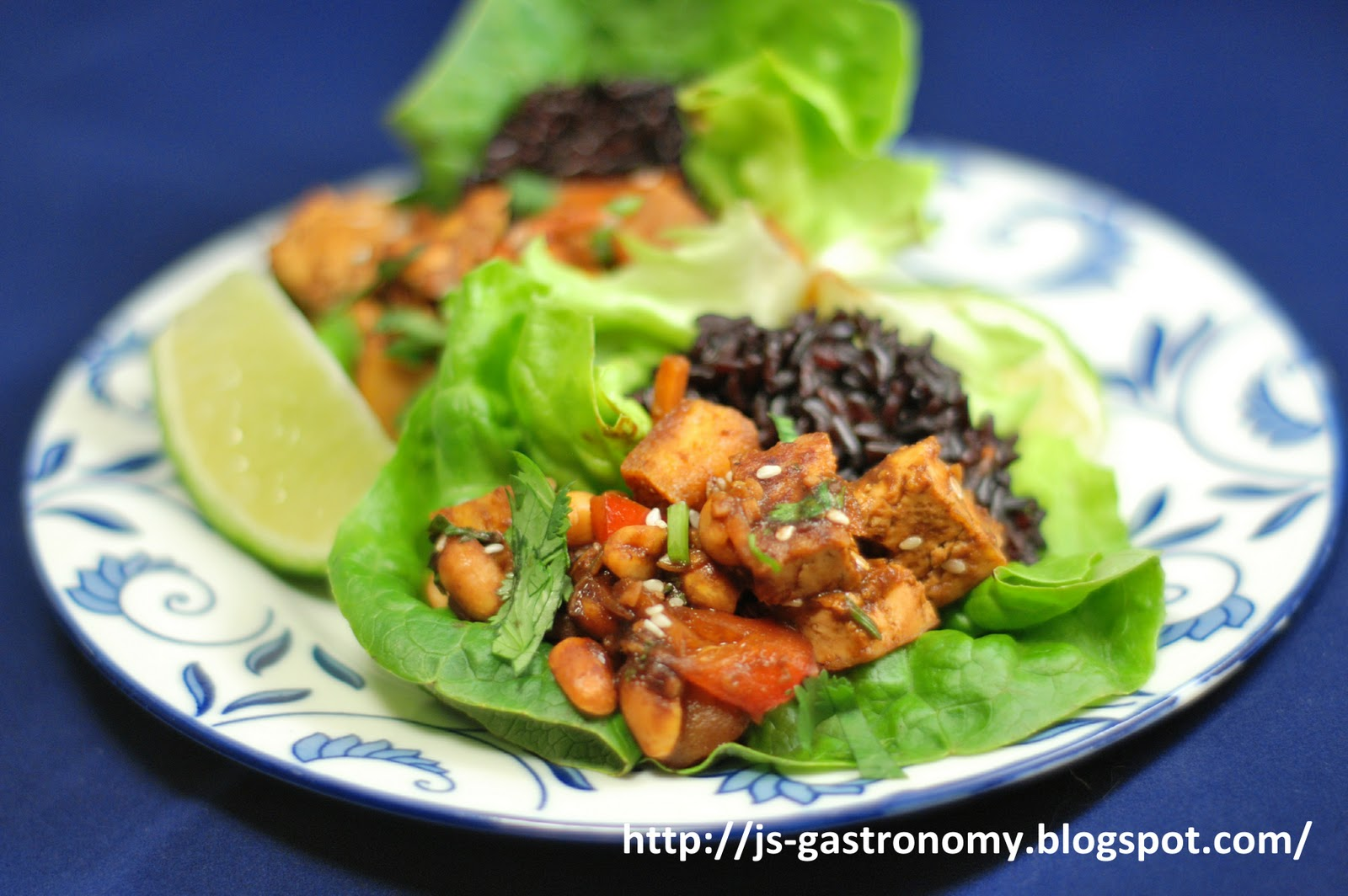 Gastronomy: Spicy Thai Tofu Lettuce Wraps