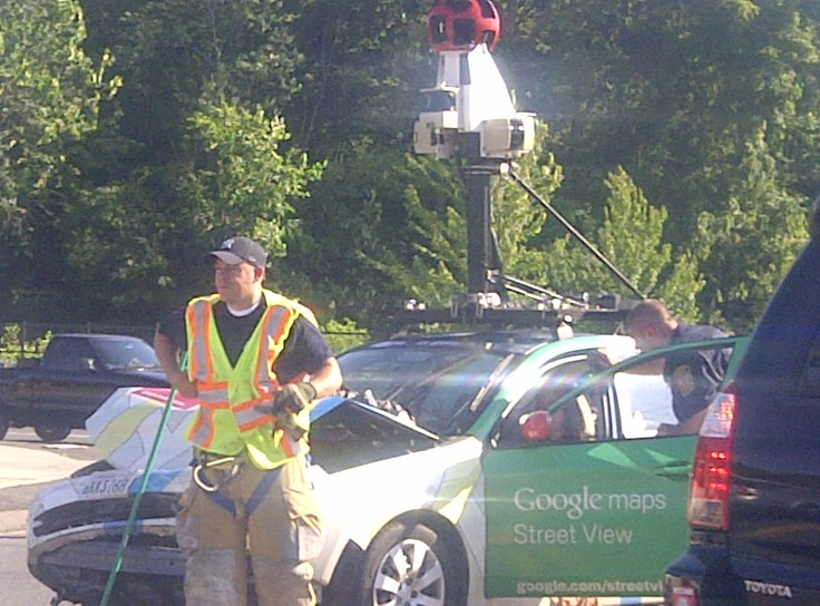 BRISTOLTODAY.COM: Oops! Google map car in crash in Bristol today on