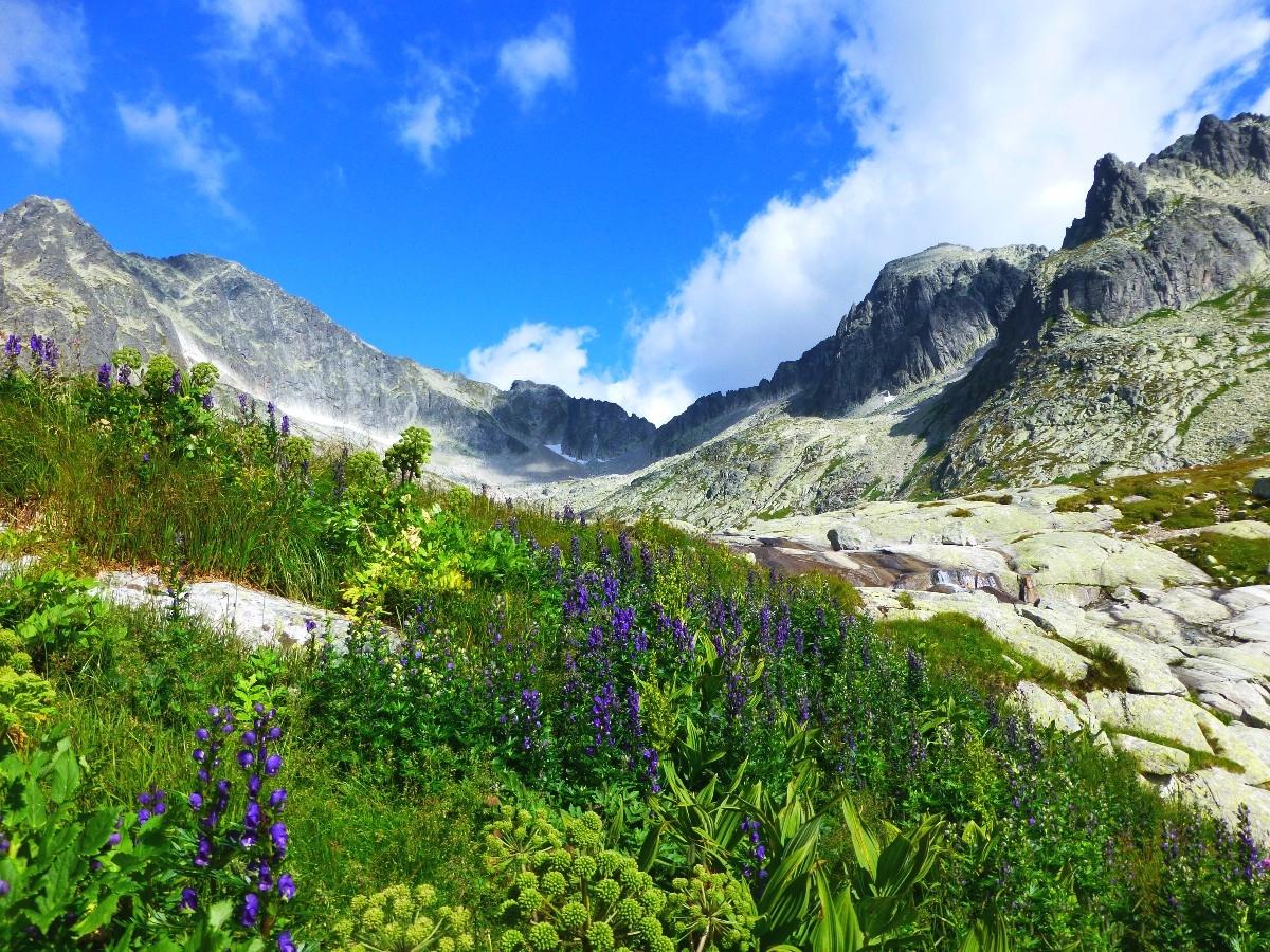 Beautiful Eastern Europe Tatra Mountains Carpathians Slovakia