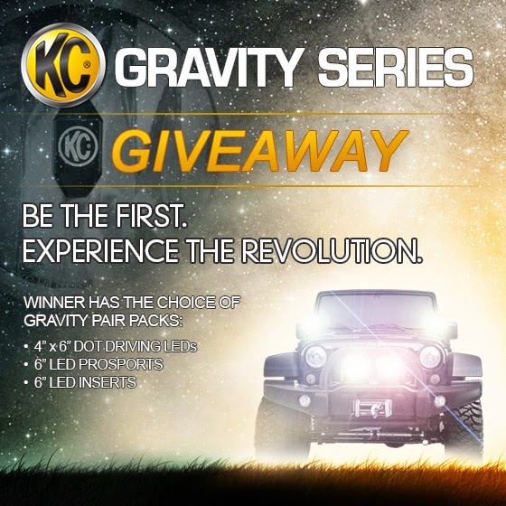 KC HiLiTES Gravity Series LED