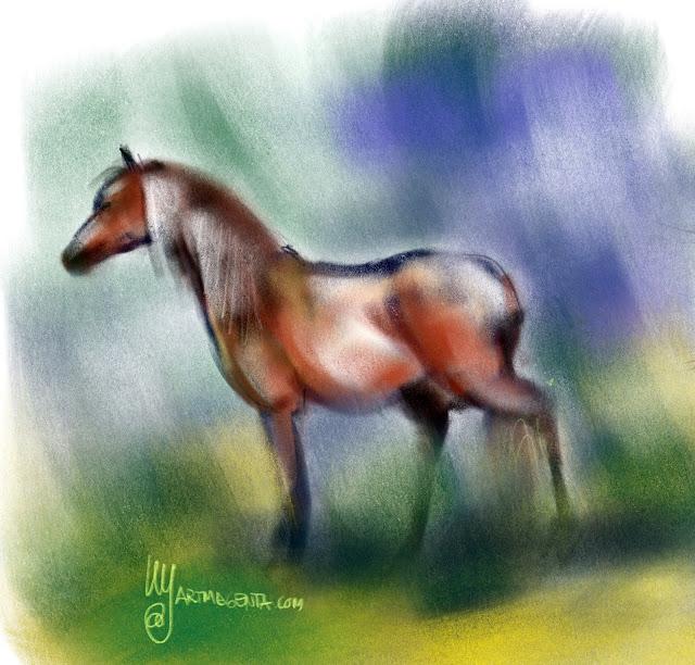 Horse by Artmagenta