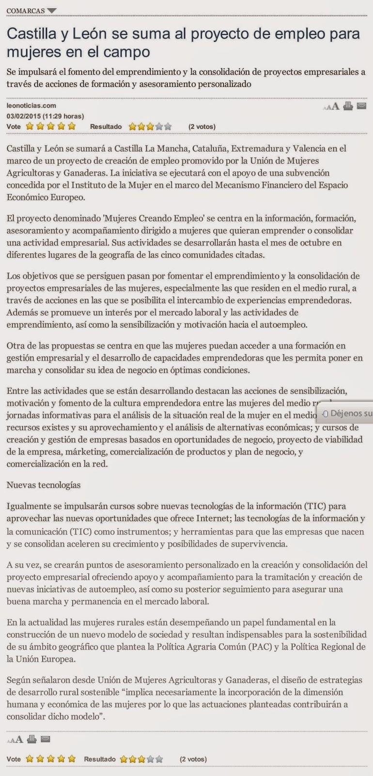 León Noticias | Inicio Proyecto