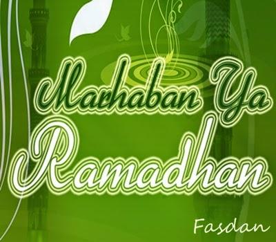 Bulan Puasa Puasa di Bulan Ramadhan