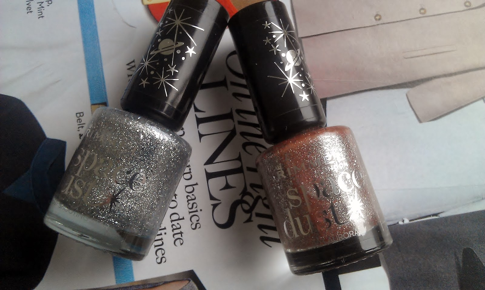 rimmel london space dust