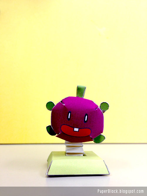 Smarty Bean Berry Paper Toy