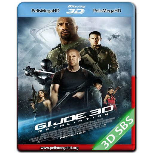 G.I. JOE 2, LA VENGANZA (2013) FULL 3D SBS 1080P HD MKV ESPAÑOL LATINO