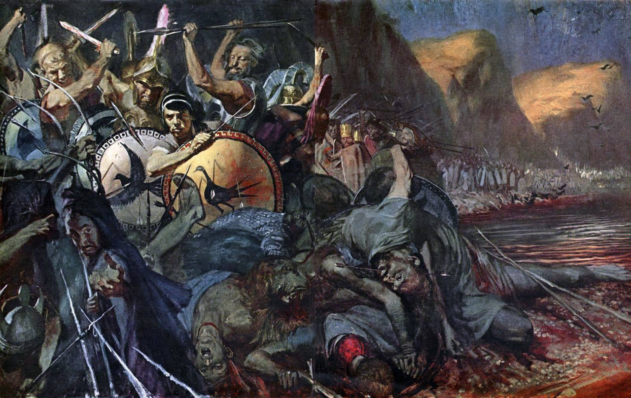 a history of the battle of thermopylae Image credit: ancientbattles the persians failed to make any headway in the first two days of the battle of thermopylaethey attacked the greeks with 10,000 strong contingents, including the crack force known as immortals.