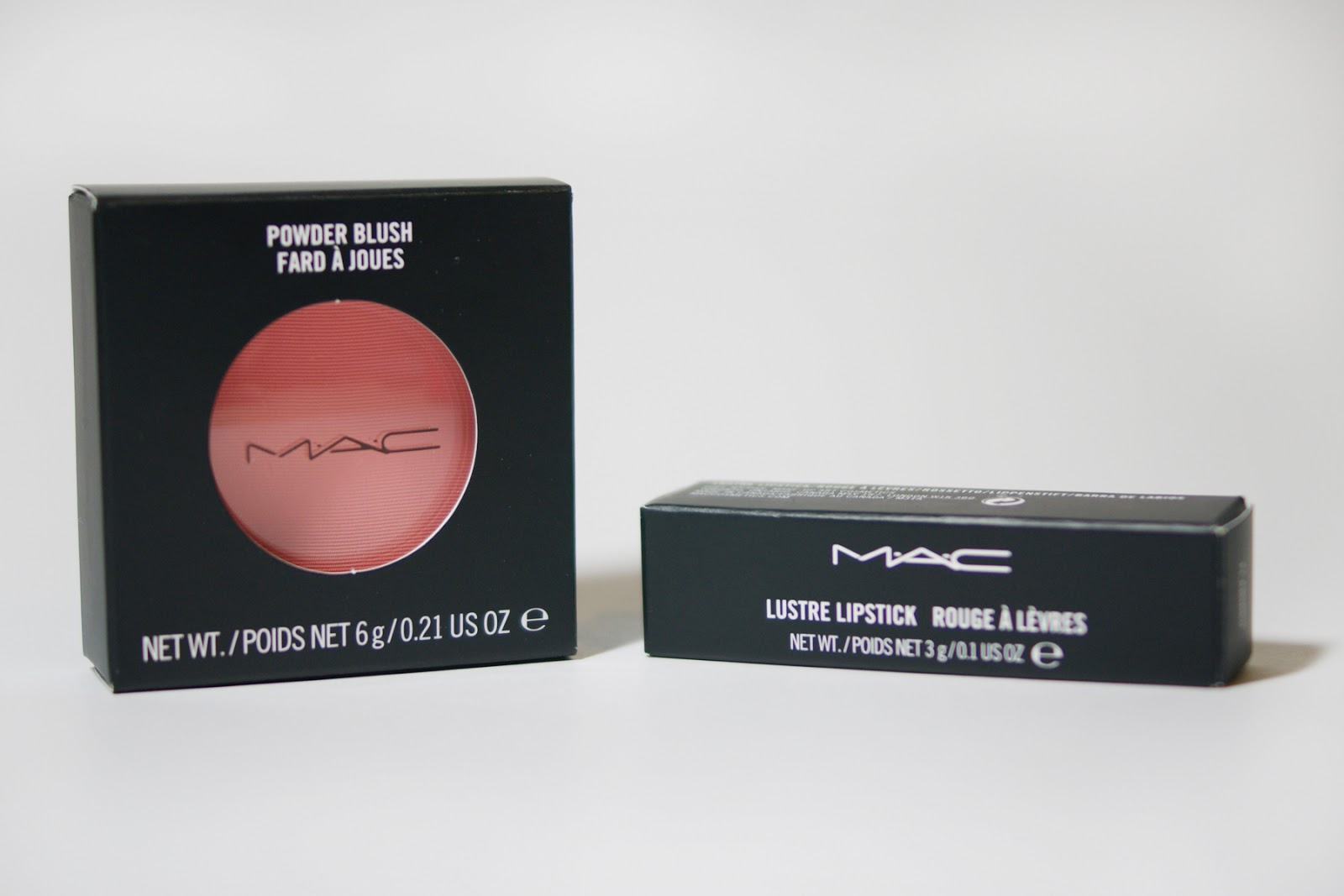 MAC All About Orange Collection Blush and Lipstick