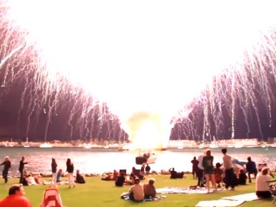 الألعاب النارية، عالم الغرائب والعجائب