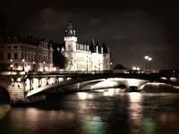 Quais de Seine de nuit, Paris