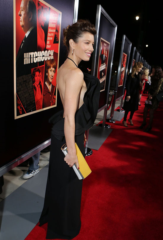 "Jessica Biel - ""Hitchcock"" premiere in Beverly Hills"