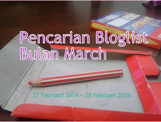 Segmen : Pencarian Bloglist Bulan March