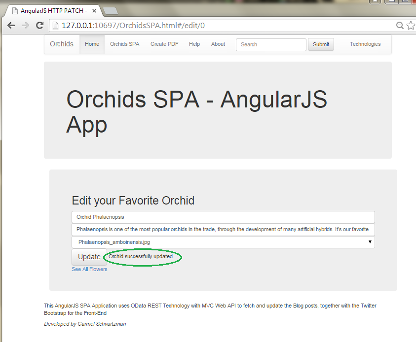 How to Design an AngularJS SPA with CRUD operations for OData RESTful Web API      18