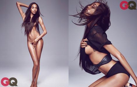 Jourdan Dunn by Dusan Reljin for GQ September issue