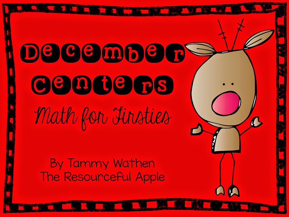 http://www.teacherspayteachers.com/Product/December-Centers-Math-for-Firsties-1582740