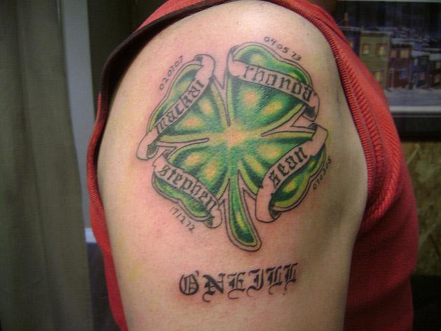 Shamrock Tattoos