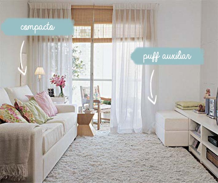 Cortinas Sala Pequena Apartamento ~ Sofás para salas pequenas  Comprando Meu Apê  Comprando Meu Apê