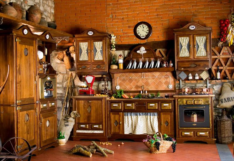 meubles cuisine style 1900 | meubles de cuisine - Meuble Cuisine Rustique