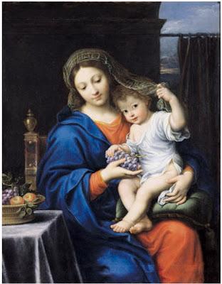 Virgen María con Jesús