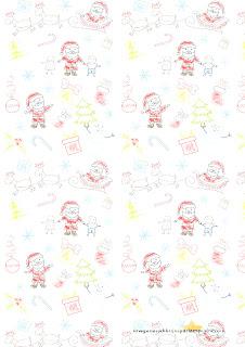 dibujitos infantiles de navidad folios de navidad