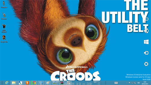 The Croods Windows 8 Theme