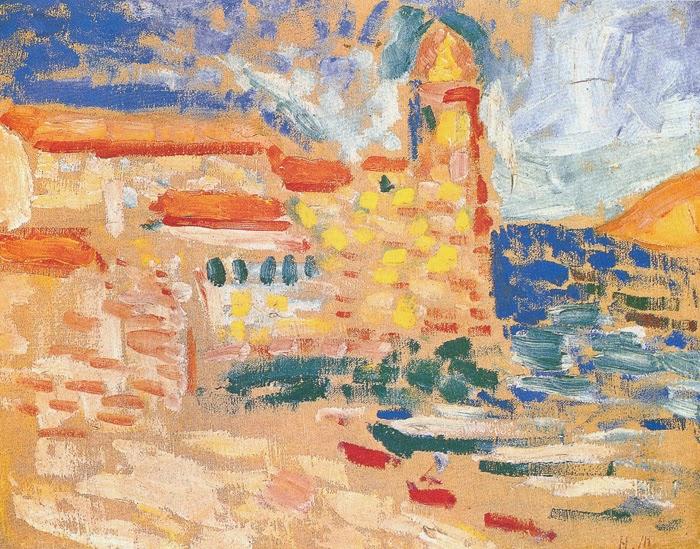 Patrick le thorois collioure berceau du fauvisme for Matisse fenetre ouverte
