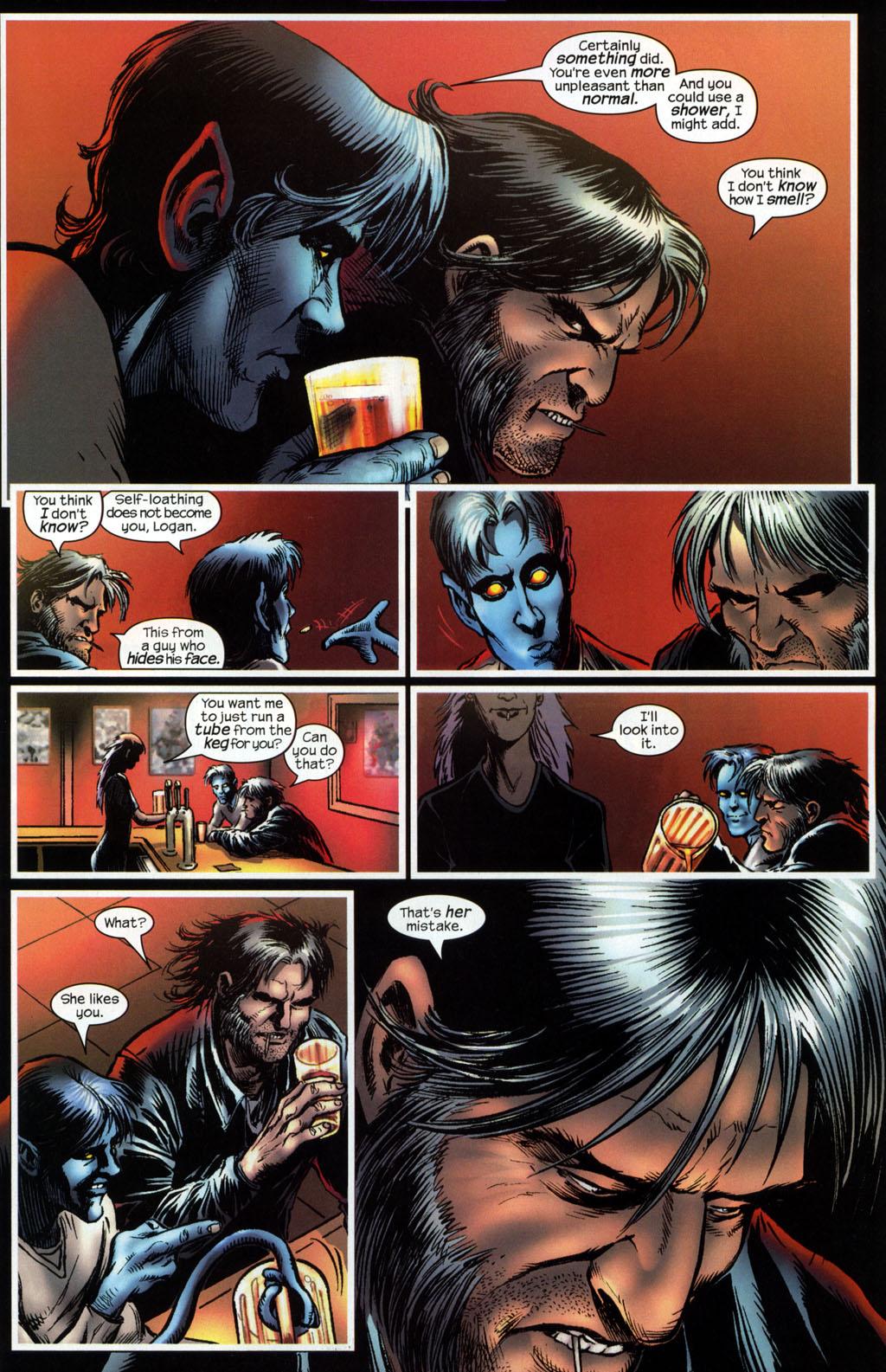 Read online Wolverine (2003) comic -  Issue #6 - 11