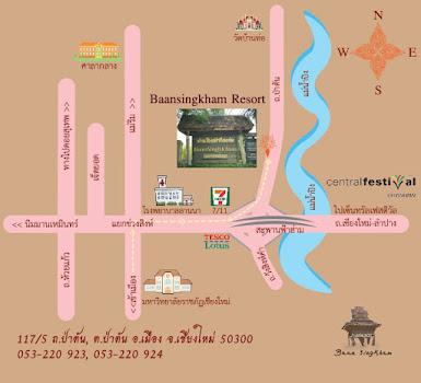 Baansingkham Location
