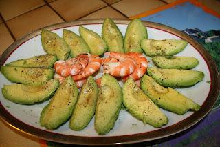 insalata   avocado e gamberi