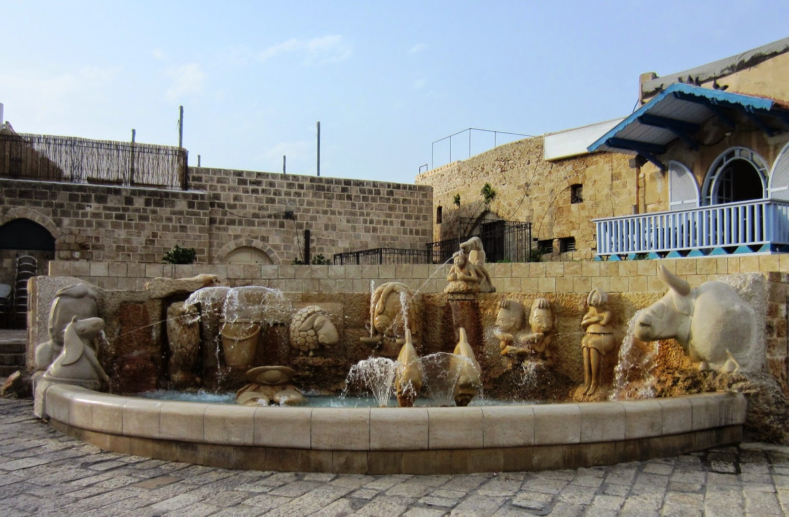 Zodiac Fountain, Jaffa, Israel / Souvenir Chronicles