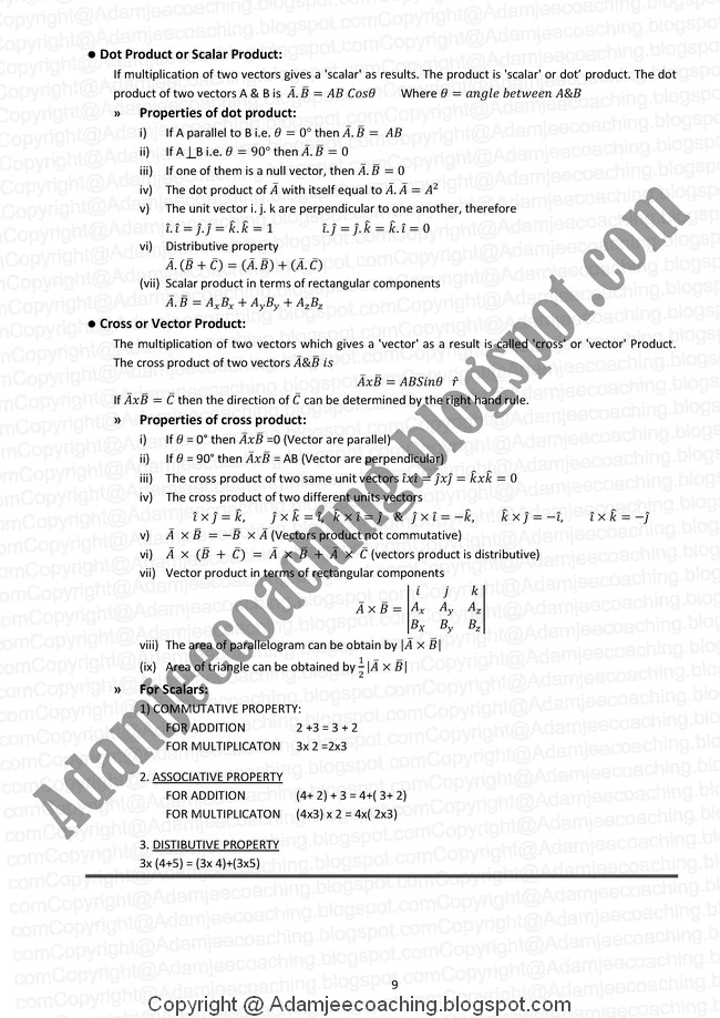 physics notes class 11 Physics notes for class 11 free pdf download physics is one of the most important subject for science students to help you prepare well for your studies, i am providing you the free physics notes for class 11 pdf.