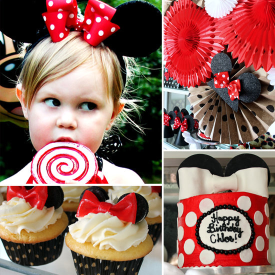 Hunted Interior: Minnie Mouse Birthday Party