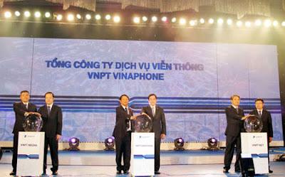 Buổi lễ ra mắt tổng công ty VNPT VinaPhone