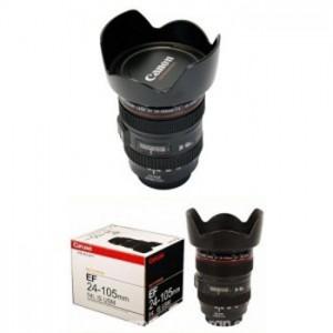 Gelas Unik Lensa Canon EF 25 – 105 MM (plastik)