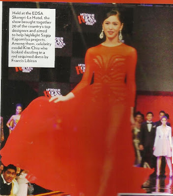 Kim Chiu Metrowear rocks the runway