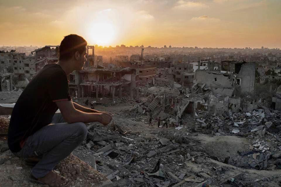 حي الشجاعية الذي دمره جيش الاحتلال