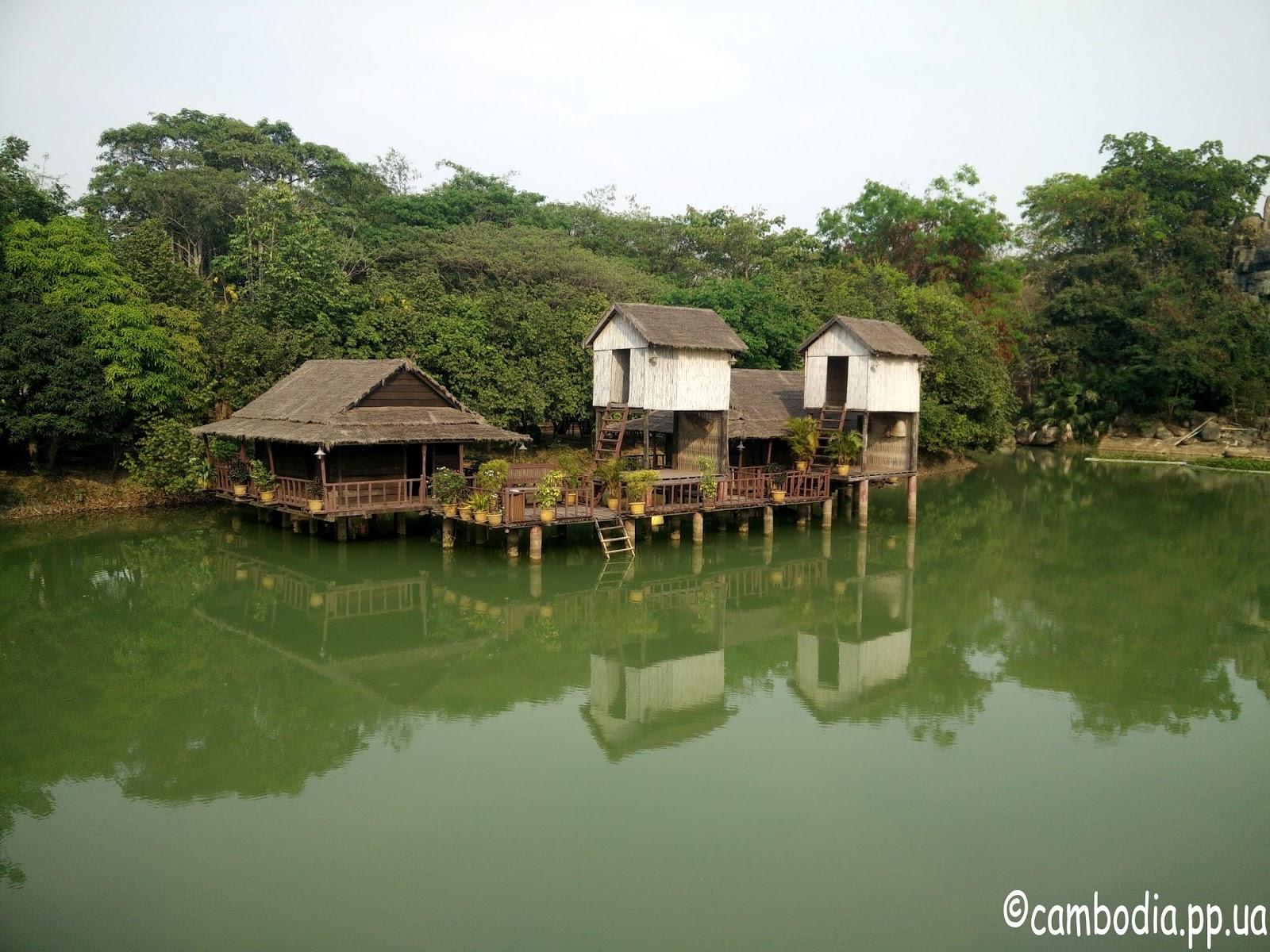 Камбоджийские хижины