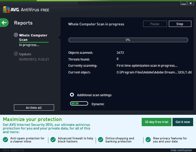 AVG antivirus pro 2014 free download